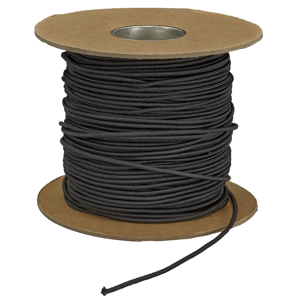 Elastic Black Shock Cord